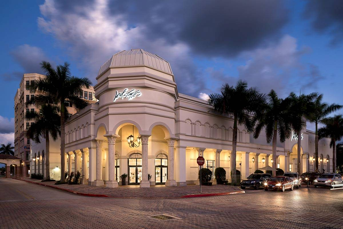 Photography of Lord & Taylor Boca Raton by Mark Steele Photography Inc