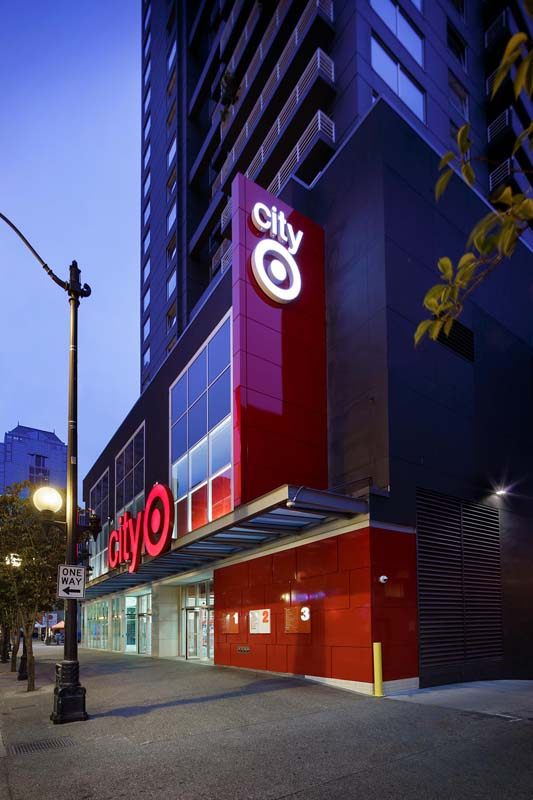 Photography of City Target by Mark Steele Photography Inc