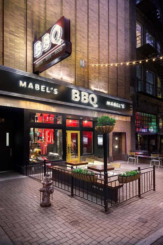 Mabel's BBQ photographed by Mark A Steele Photography Inc