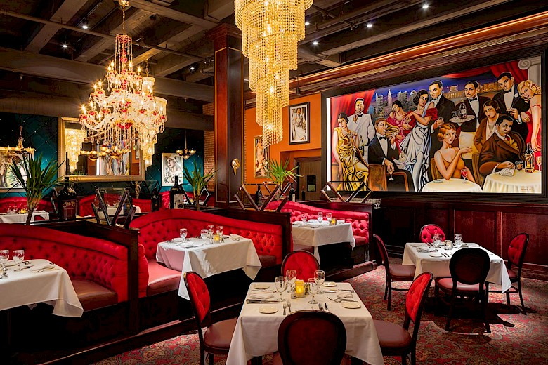 Photography of Jeff Ruby Steakhouse Columbus by Mark Steele Photography Inc