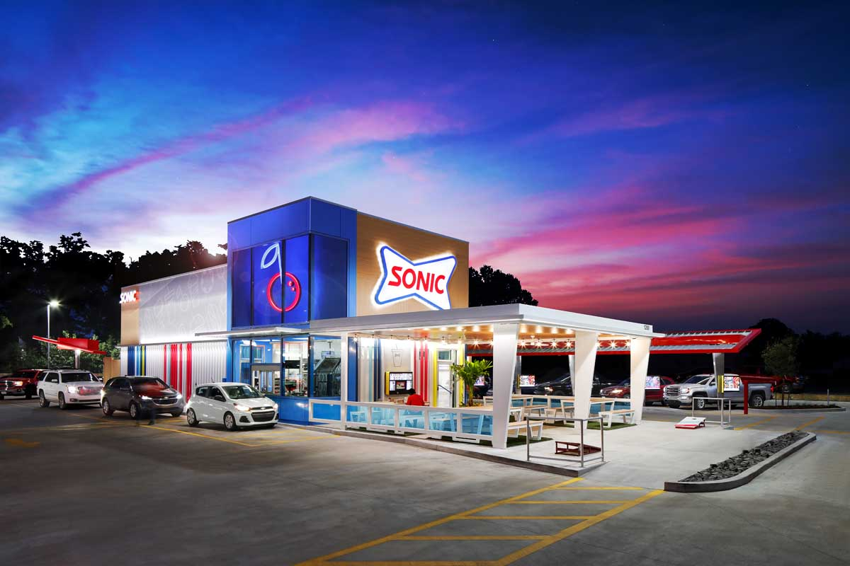 Sonic Restaurant's new Delight Prototype photographed by Mark A Steele Photography Inc
